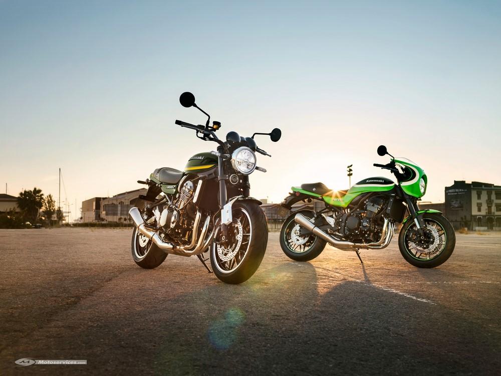 Kawasaki Z900RS et RS CAFE 2020 : nouveaux vieux coloris !