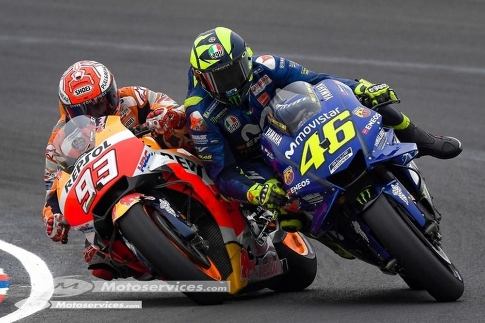 MotoGP : En pourcentage, Rossi plus fort que l'ouragan Marquez !