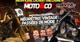 Moto and Co nouveautés 2020 : un millésime fort en caractère ?