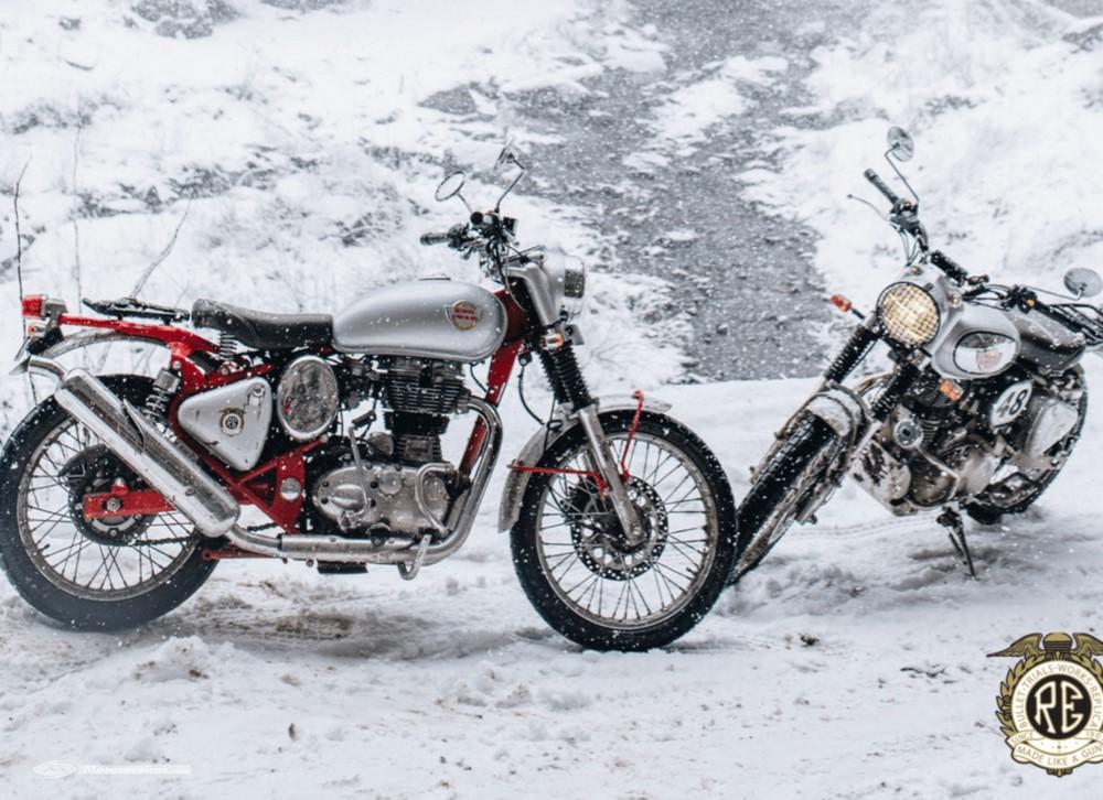 Royal Enfield travaille aussi sur une moto électrique