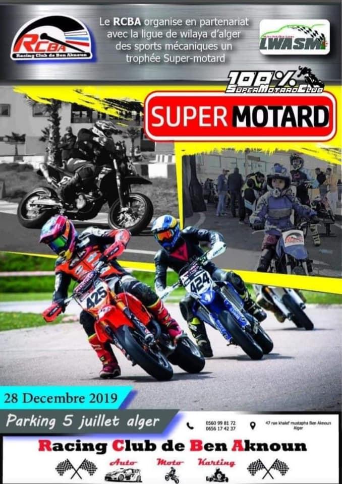 Racing Club de Ben Aknoun : Trophée Super Motard du 28 décembre 2019