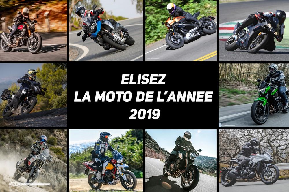Moto de l'année 2019 : le résultat du sondage !