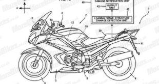 Yamaha travaille sur un système d'alerte en cas de damages du cadre