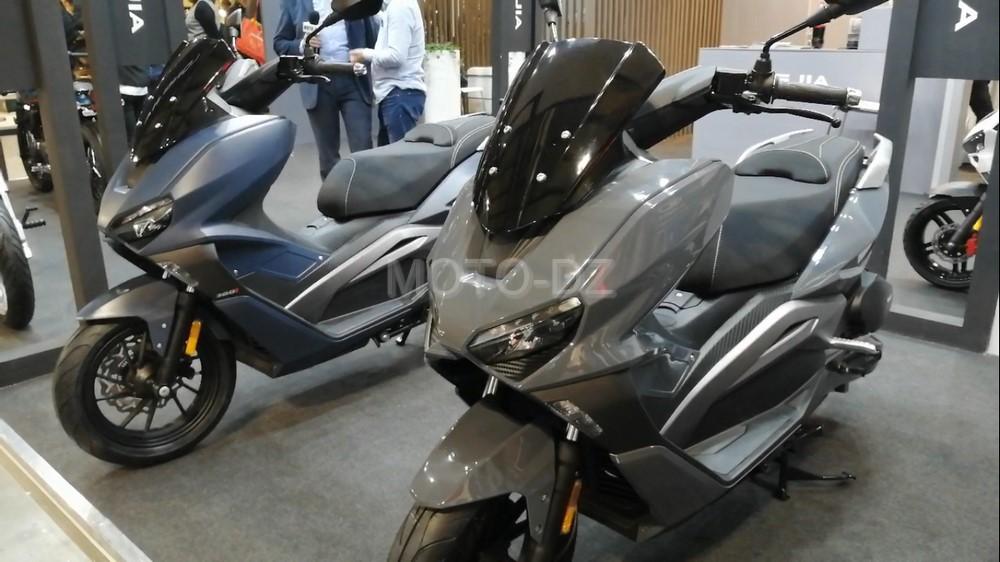 SCOOP MOTO-DZ : vidéo du Scooter GT VMS VMAX 200 - 300i ABS