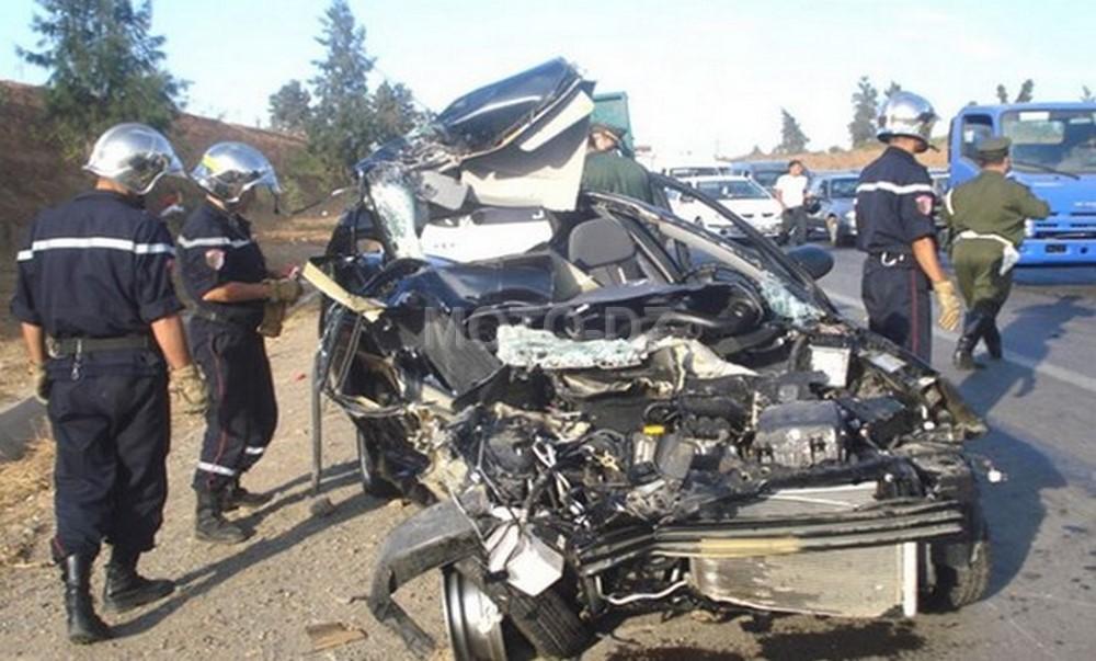 Accidents de la route : 43 morts et 1307 blessés durant la dernière semaine