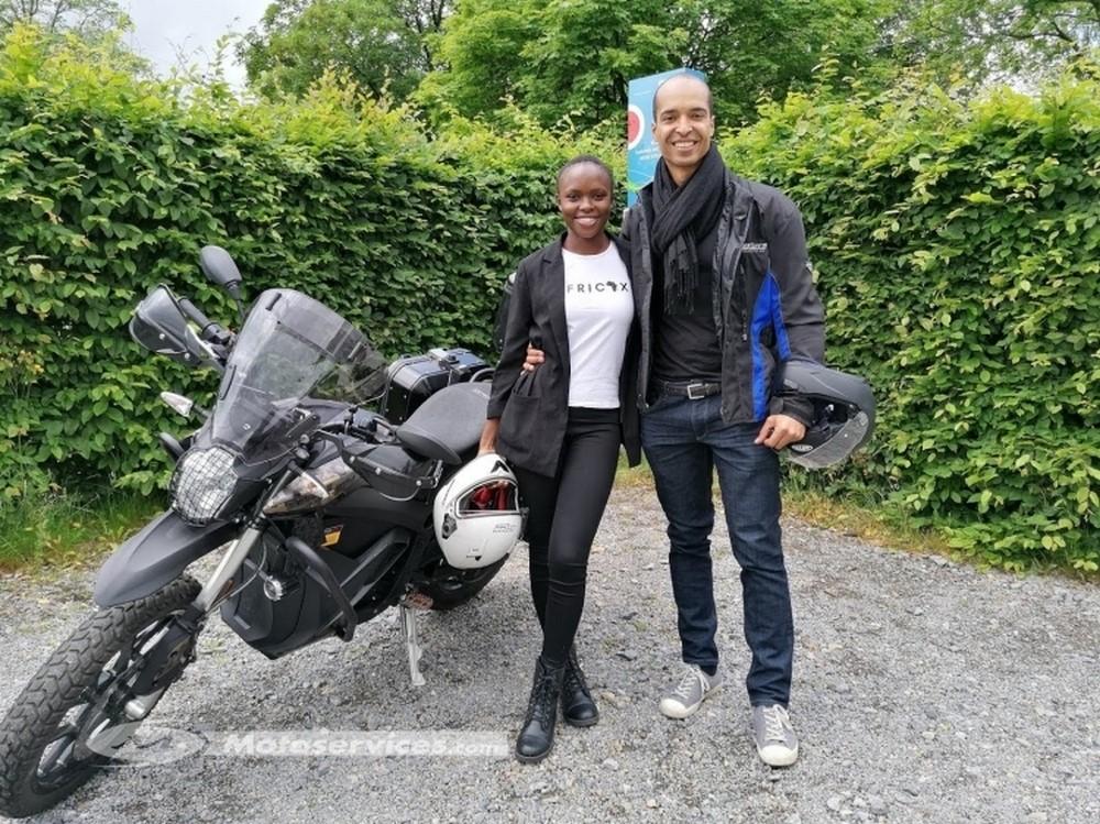 l'Afrique en Zero Motorcycles DSR