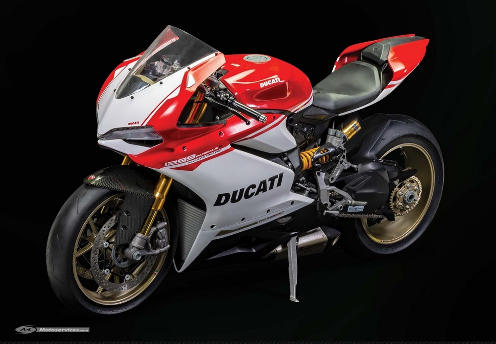 Une Ducati Panigale 1299 S Anniversario pour 700 euros