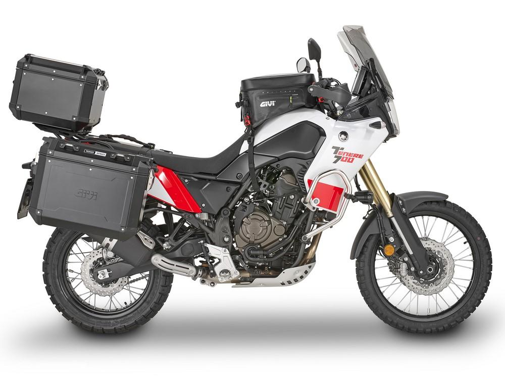 Givi équipe la Yamaha Ténéré 700