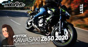 Kawasaki Z 650 2020 : essai et vidéo sous le soleil !