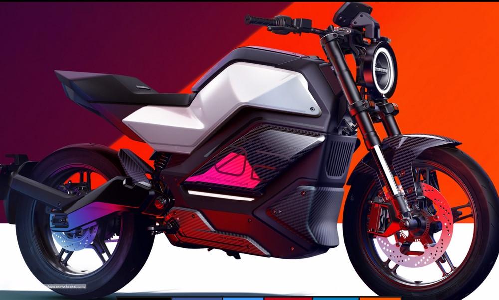 Voici la RQi-GT, la moto électrique de NIU