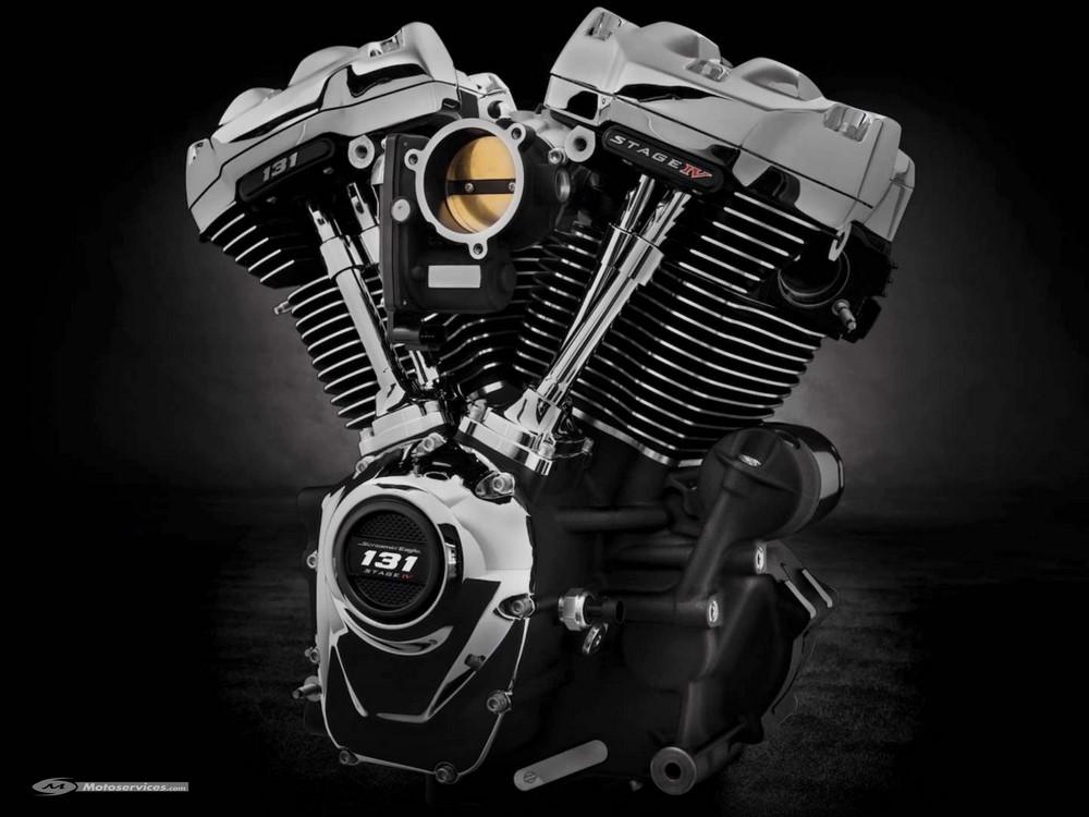 V-twin Harley 131
