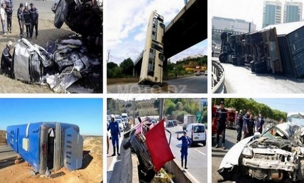 Accidents de la route : 676 morts et 19000 blessés