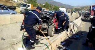 Accidents de la route : 30 morts et 1.270 blessés