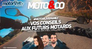 Conseils aux futurs motards