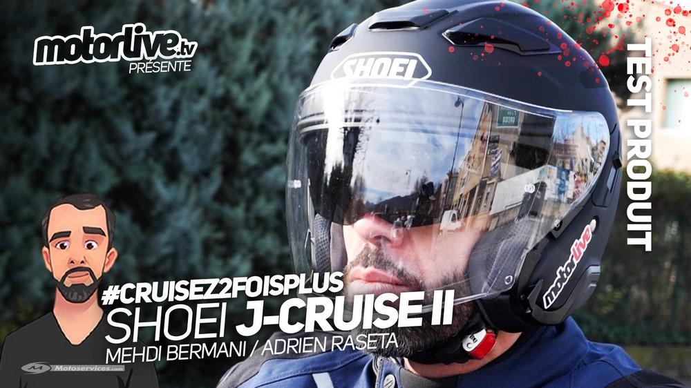 Essai et vidéo Shoei J-Cruise II