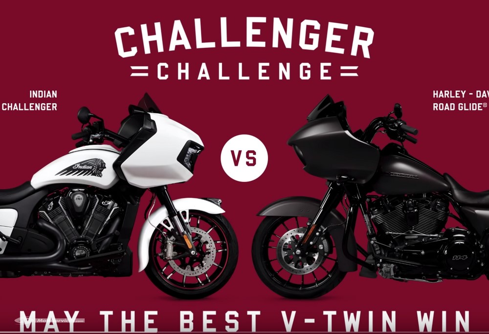Harley-Davidson et Indian : le fight club !