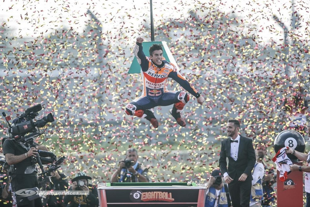 MotoGP : Marquez tranquille pour cinq ans chez Honda