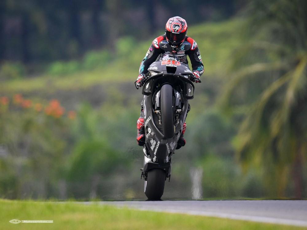 MotoGP en essais officiels à Sepang