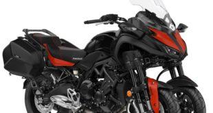 Yamaha Niken GT : en rouge