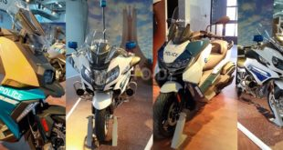 BMW Motorrad expose au Salon SECURA 2020 à la Safex (Alger)