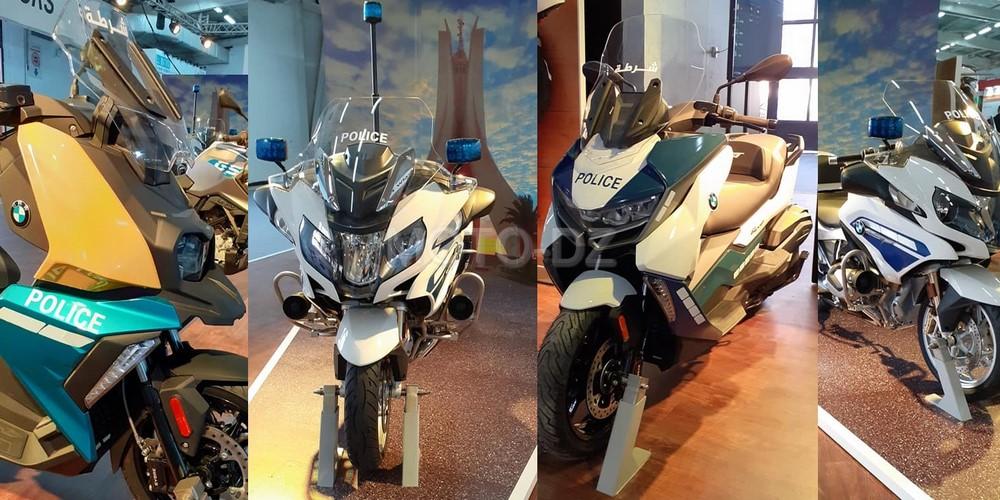 BMW Motorrad expose au Salon SECURA 2020 à la Safex (Alger)