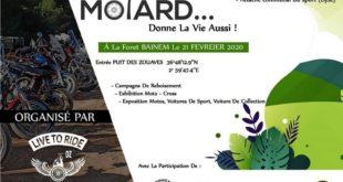 """Communauté & cause : """"Motard Donne La Vie Aussi"""" 21 Février 2020 à Baïnem"""
