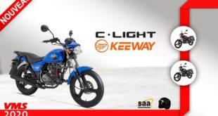 Keeway Algérie : arrivée de la petite C-Light 125 Euro 3