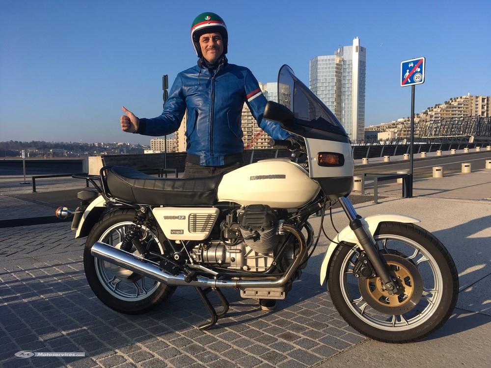 La moto classique de la semaine : Moto Guzzi 1000 SP