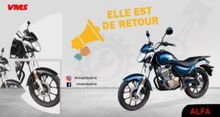 VMS Industrie : VMS Alpha 200 de retour en concession !