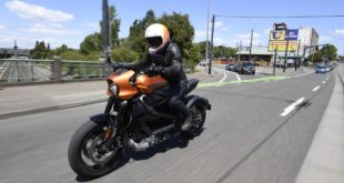 1723 km en 24 heures en Harley-Davidson Livewire