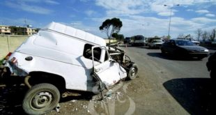Accidents de la circulation : 18 morts et plus de 1.200 blessés en une semaine
