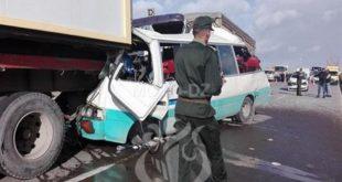 Accidents de la route : près de 2.600 morts et 11.859 blessés en 2019