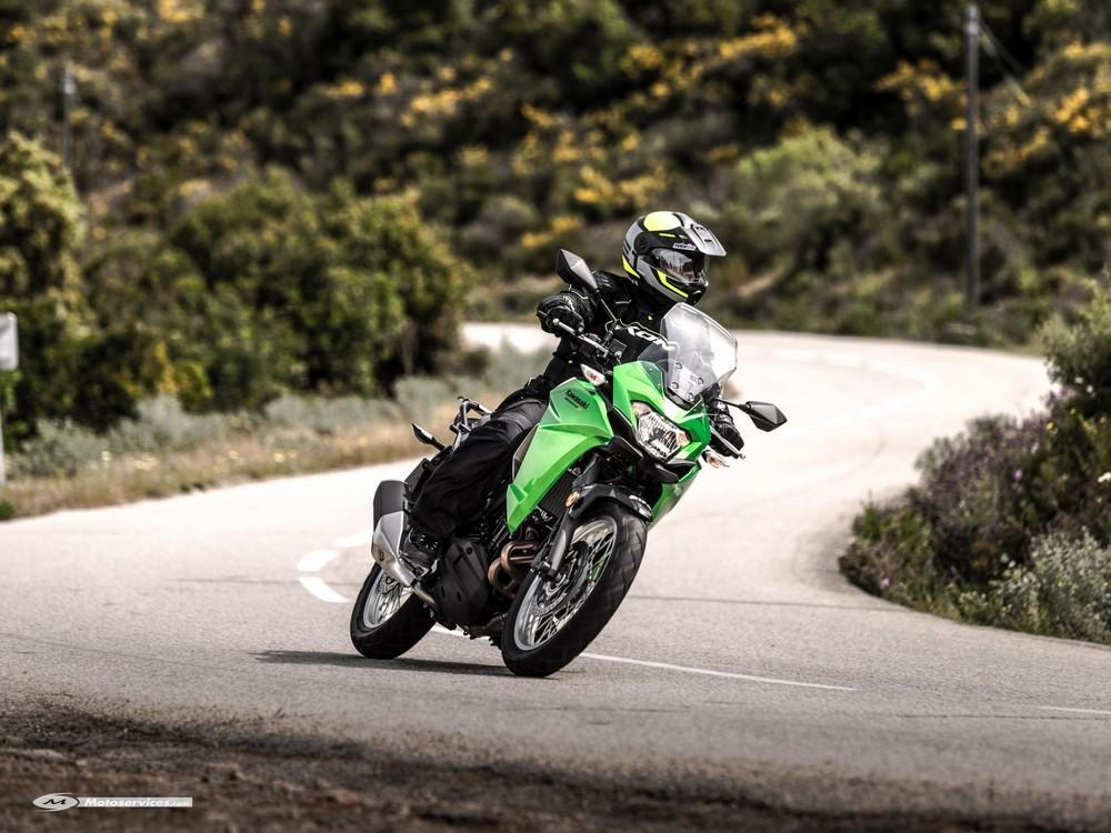 Rideau pour la Kawasaki Versys-X 300