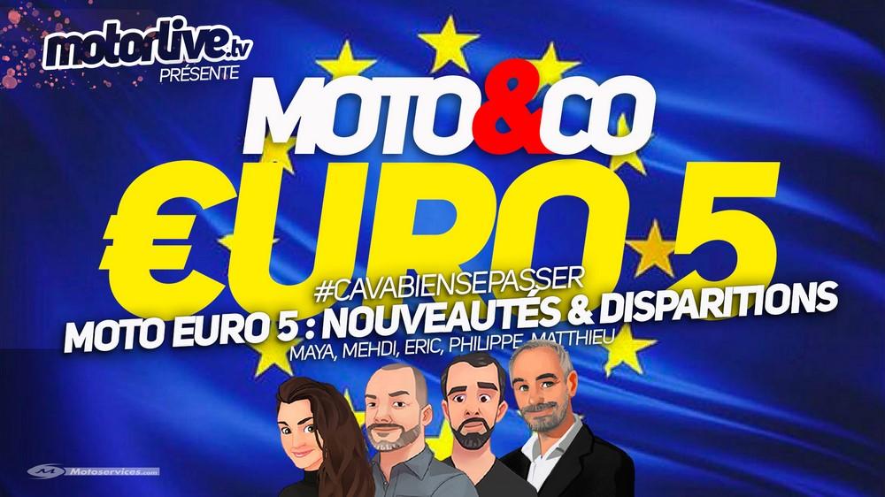 Motos Euro 5, nouveautés et disparitions