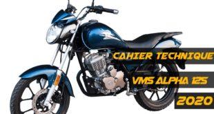 Publication du cahier technique de la VMS Alpha 125