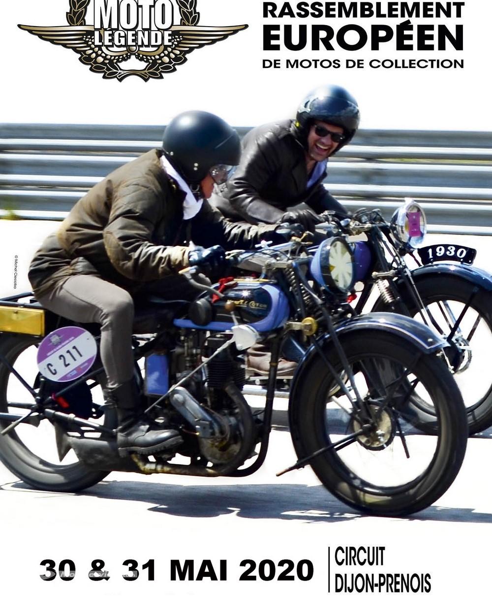 Les coupes Moto Légende reportées