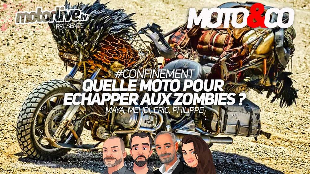 Quelle moto pour échapper aux zombies