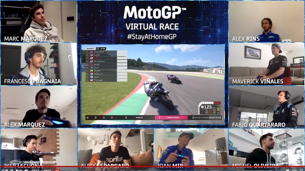MotoGP 2020 : Victoire pour Alex Marquez lors du premier GP virtuel !