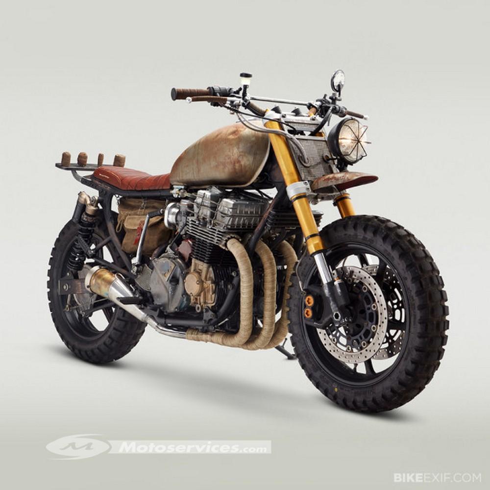 Le top 20 des motos pour survivre à une attaque de zombies !