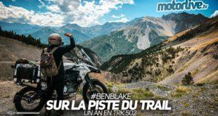 Sur la piste du trail : la dernière vidéo de Ben Blake !