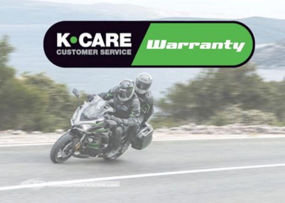 Kawasaki prolonge ses garanties