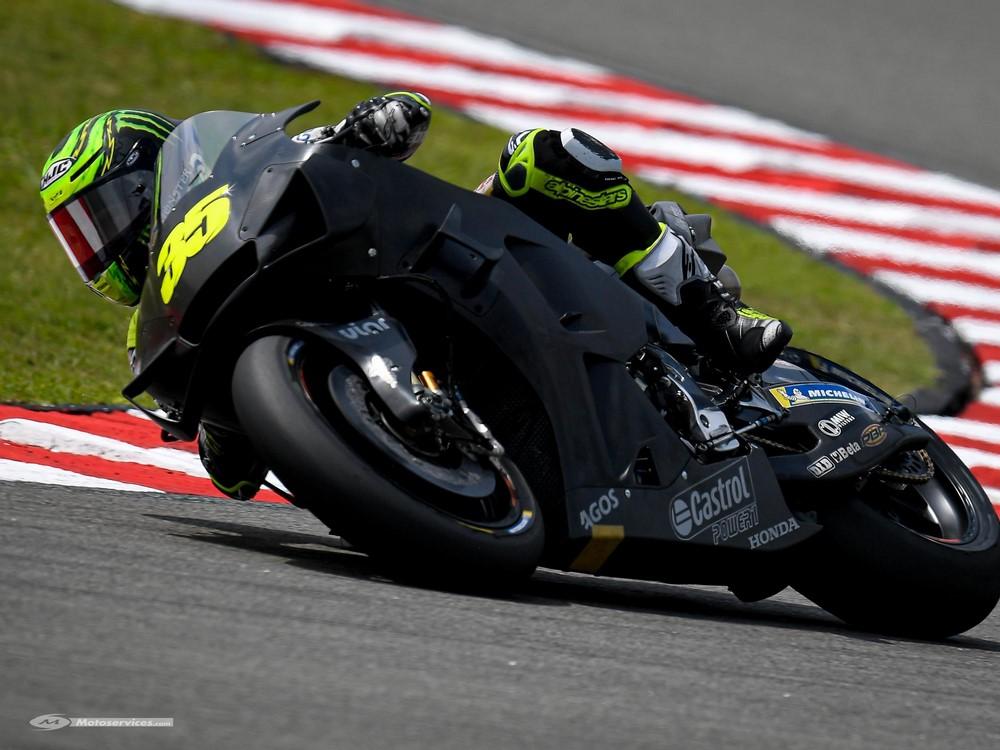 MotoGP 2021 : Crutchlow continue l'an prochain