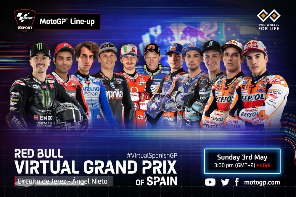 MotoGP 2020 : Dimanche GP de Jerez ! Dans les trois cylindrées ! (Euh, virtuel)
