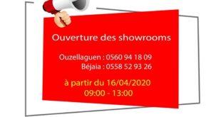 VMS Industrie rouvre ses points de vente de Bejaïa et Ouzellaguen