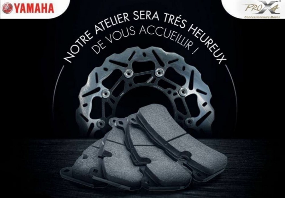 Yamaha Algérie ouvre son atelier SAV, ce mardi 21 avril 2020 !