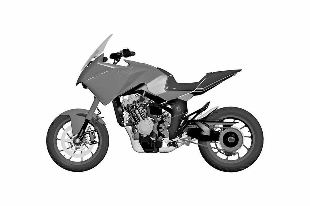 Honda CB4X : la CB650R version crossover bientôt sur nos routes ?