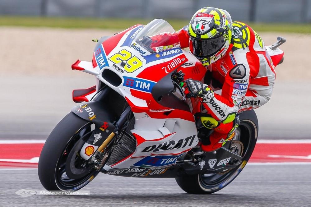 MotoGP 2021 : Iannone argument de Ducati