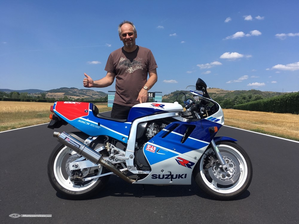 La moto classique de la semaine : Suzuki 750 GSX-RR