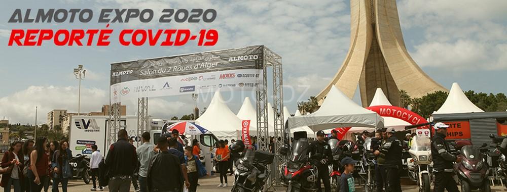 ALMOTO EXPO : la 3ème édition du Salon de la Moto 2020 reportée !