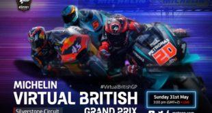 MotoGP 2020 : Faux GP (virtuel) à Silverstone le 31 mai